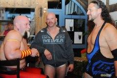 The Flatliner, Karsten Kretschmer, Joe Legend - Wrestler